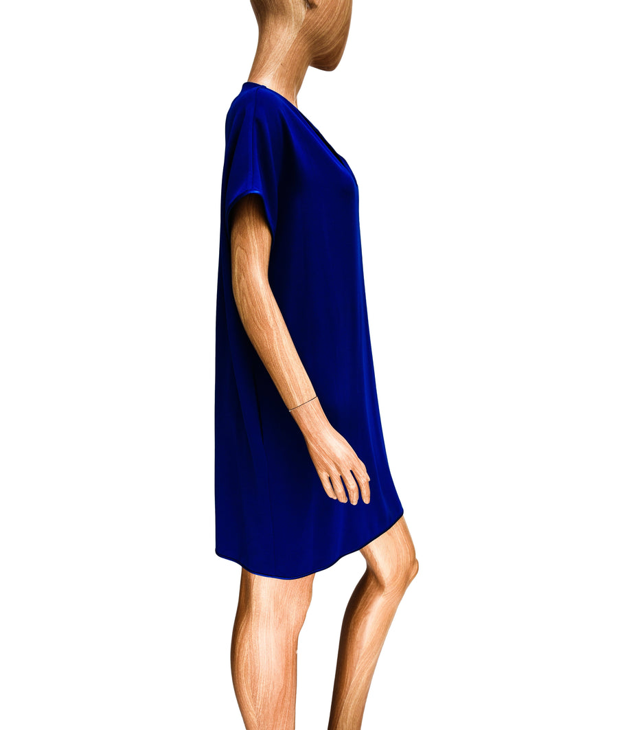 Shift Mini Dress with Pockets