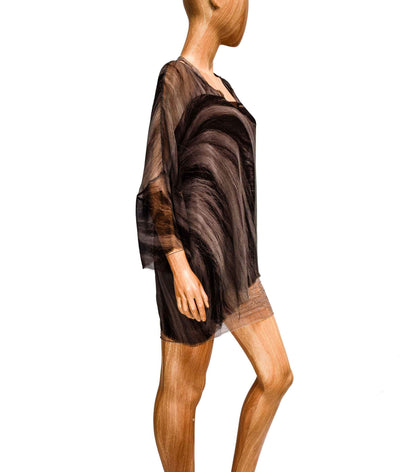 Silk Tunic with Slip