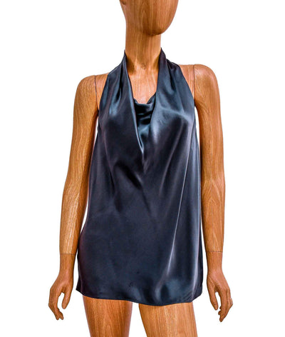 Sleeveless Silk Blouse