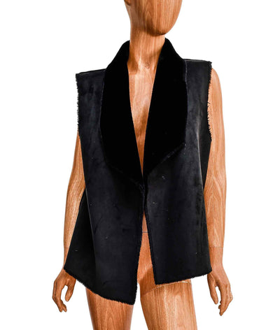 Soft Suede Sleeveless Vest