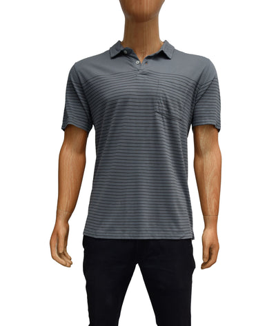Striped Short Sleeve Polo