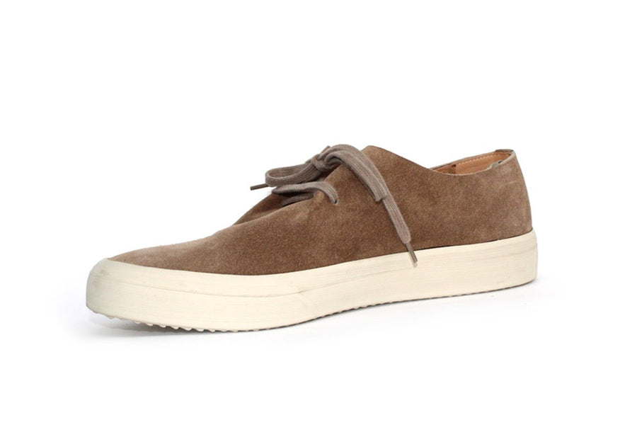 Suede Sneakers in Camel