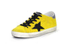 Superstar Low-Top Sneakers in Yellow Suede