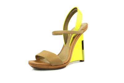 Wedge Sandal with Leather Straps