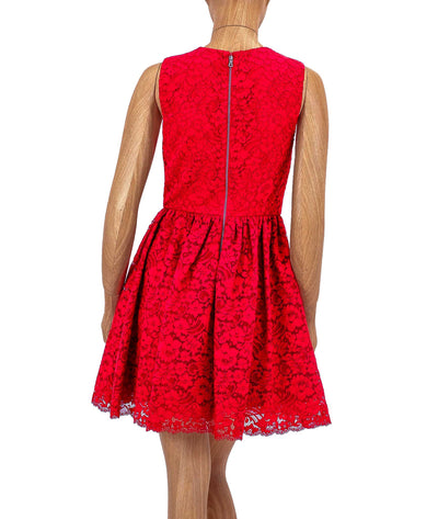 Kappa Lace Mini Dress