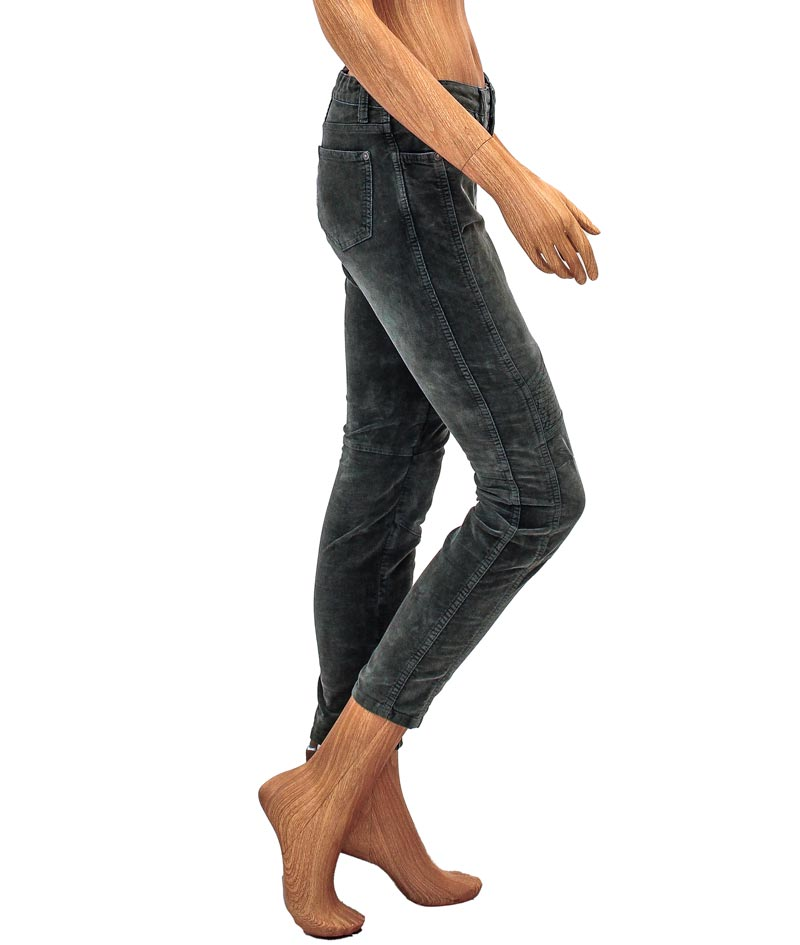 Mid-Rise Moto Skinny Jeans