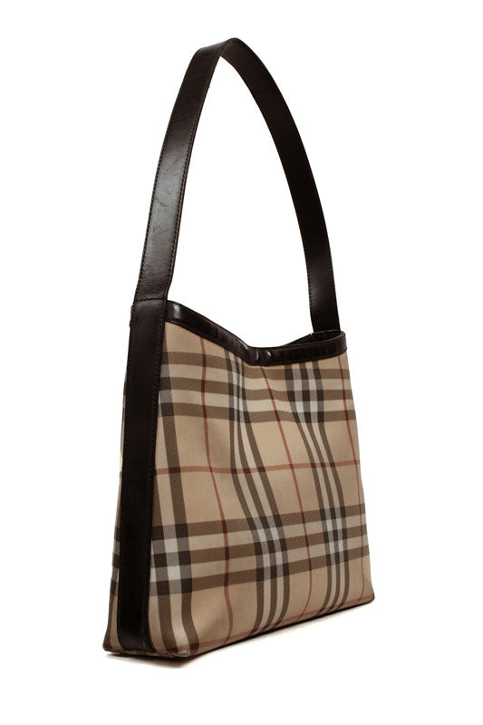 Nova Check Coated Canvas Tote