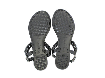Jelly Chain-Link Sandals