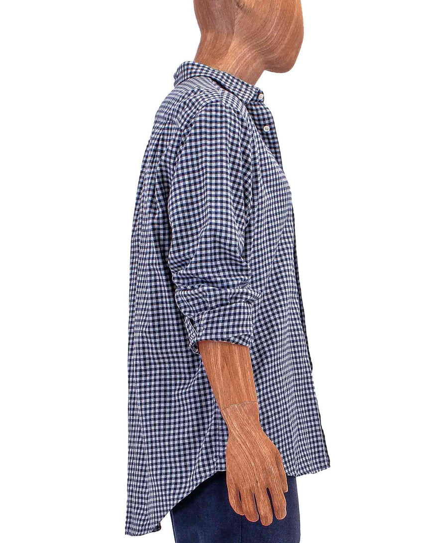 Plaid Long-Sleeve Button Down