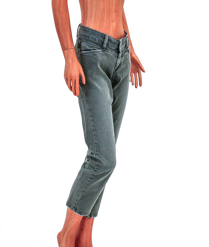 The Starlet Cropped Skinny Jeans