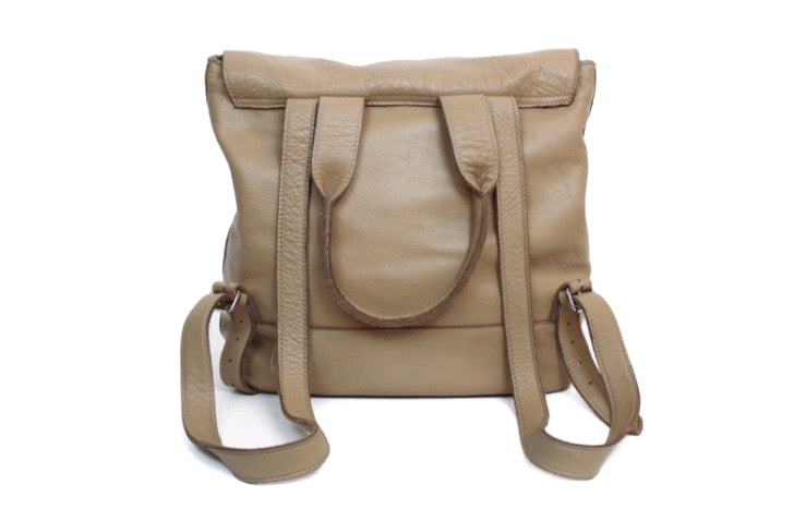 Clyde Calfskin Leather Backpack