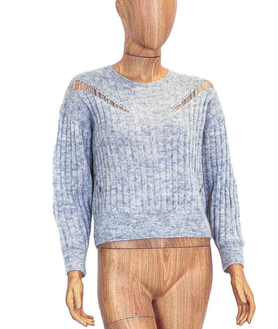 Lightweight Woven Ribbed Sweater