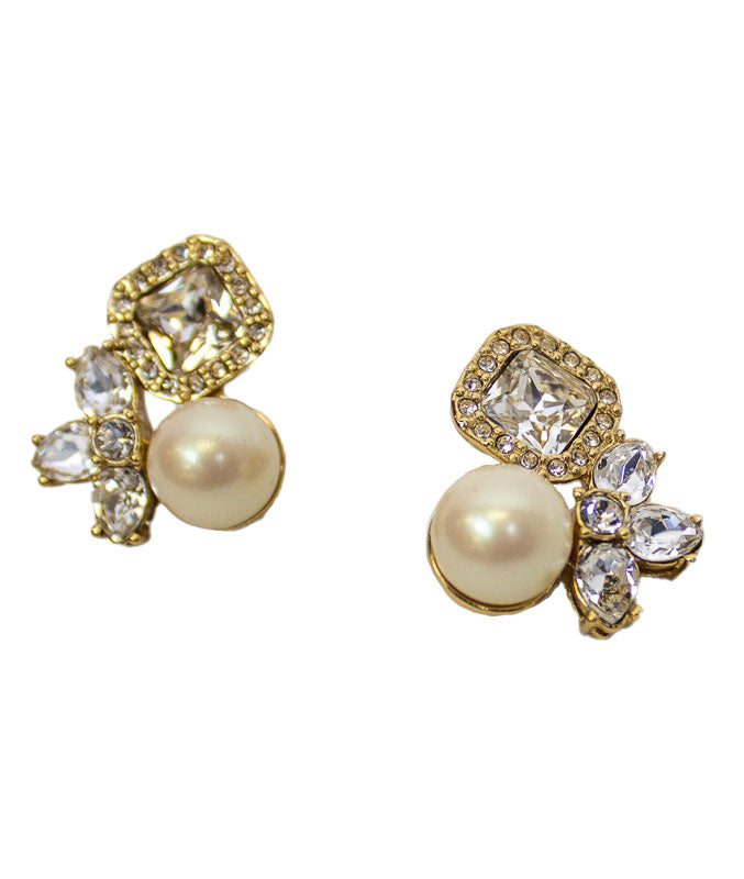 Pearl Filigree Earrings