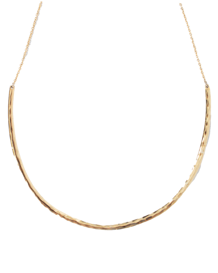 Gold Toned Choker Necklace