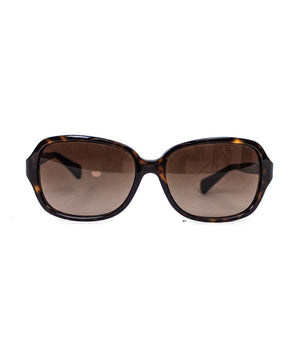 Coach Square Tortoiseshell Sunglasses