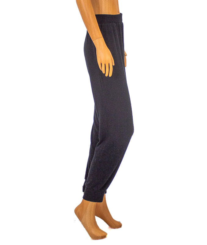 Black Casual Sweatpants