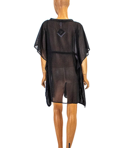 Sheer Caftan Cover Up