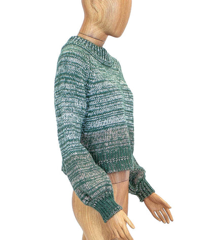Knit Bishop Sleeve Sweater
