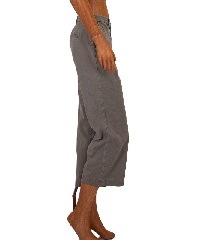 Mid-Rise Cropped Culottes