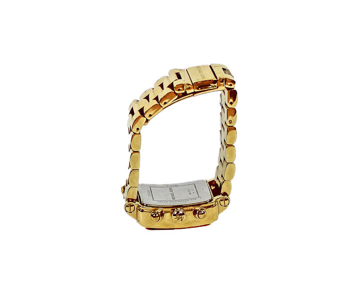 Square Gold-Toned Women's Watch