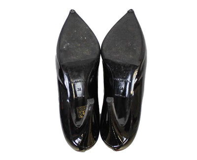 Patent Pointed Toe Heel