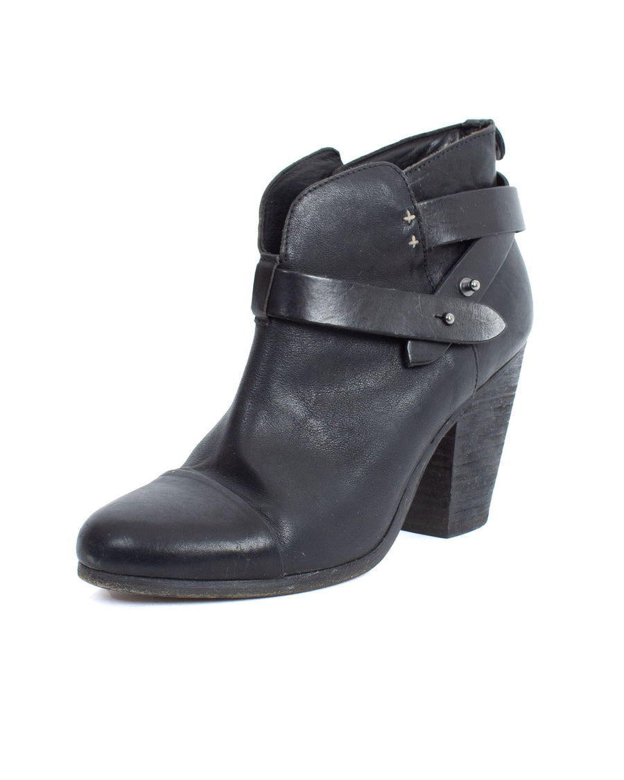 """Harrow"" Leather Ankle Boots"