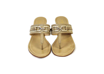 """Virginia"" Low Wedge Sandal"