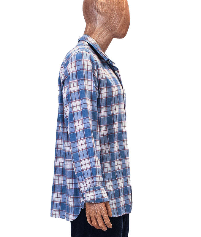 Plaid Patch Pocket Button Down