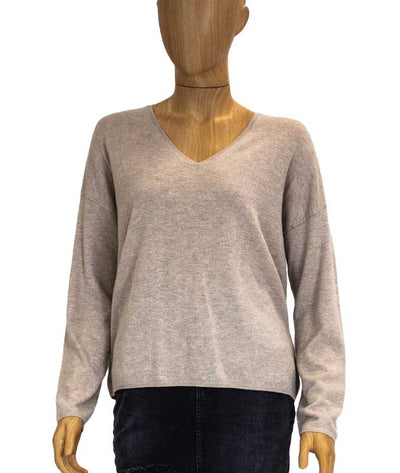 Metallic Pullover Sweater