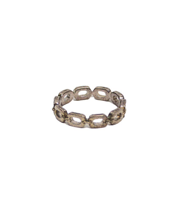 Silver-Toned Band Set
