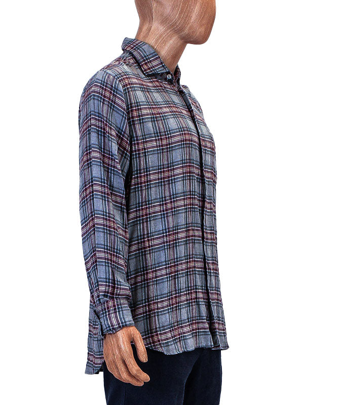 Patch Pocket Flannel Button Down
