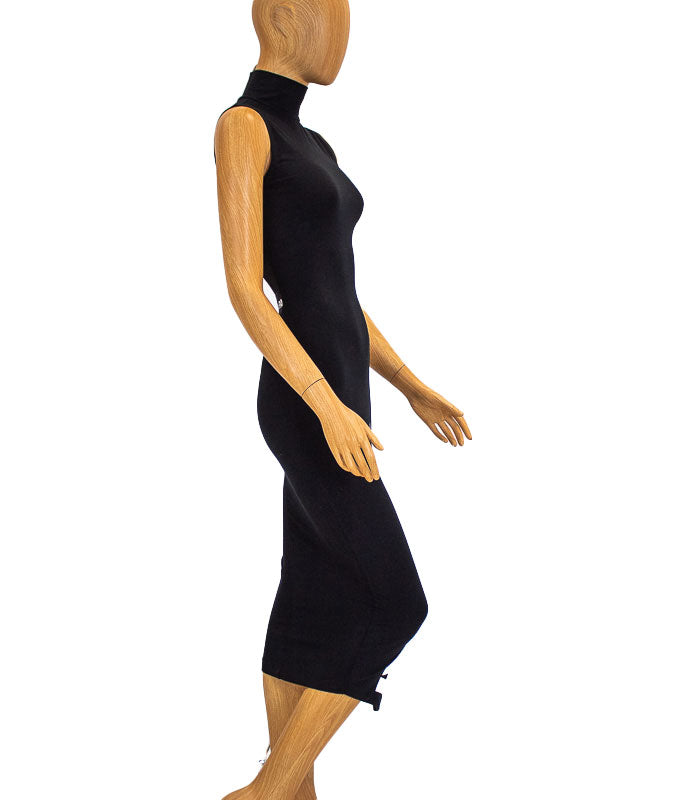 Ivy Park Black Fitted Dress