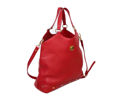 Top Handle Bag with Crossbody Strap