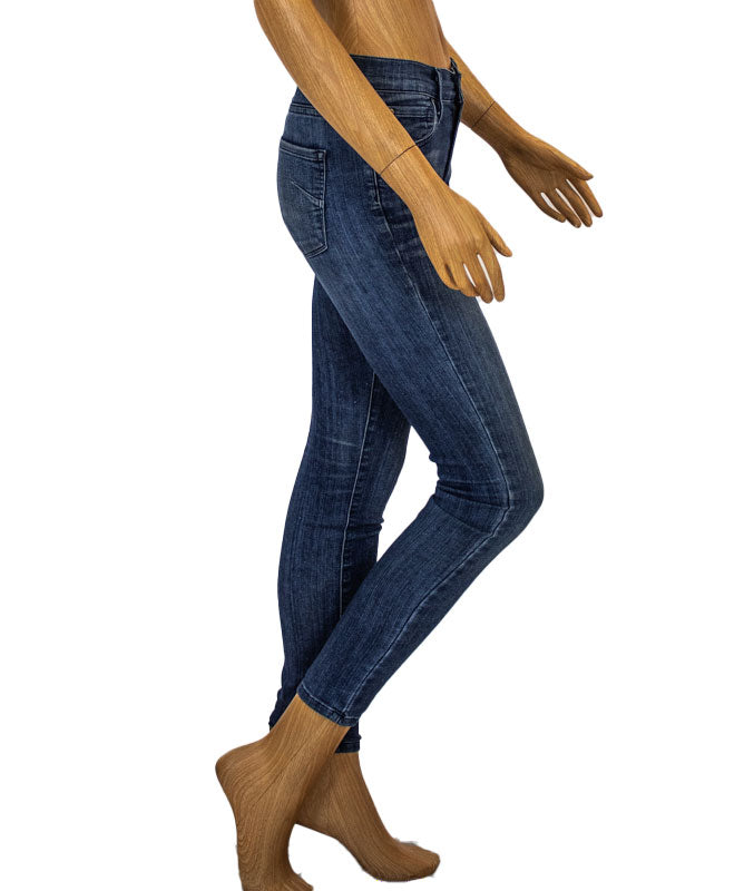 "Mid-Rise ""Twiggy"" Skinny Jeans"