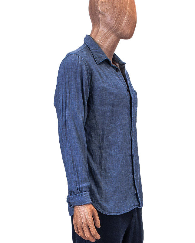 Chambray Front Pocket Button Down