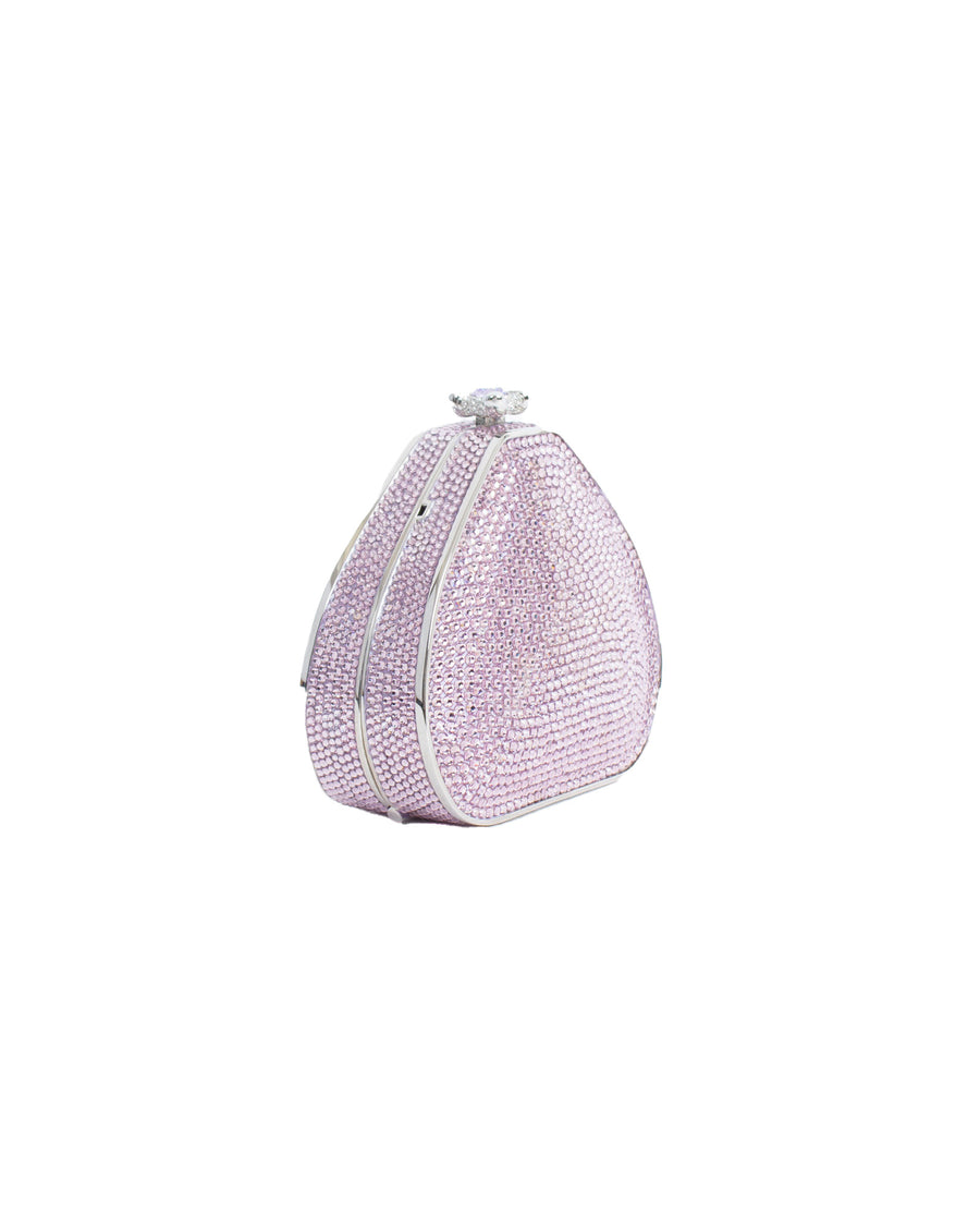 Small Crystal Covered Clutch