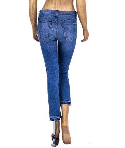 "Mid-Rise ""Tilda"" Cropped Jeans"