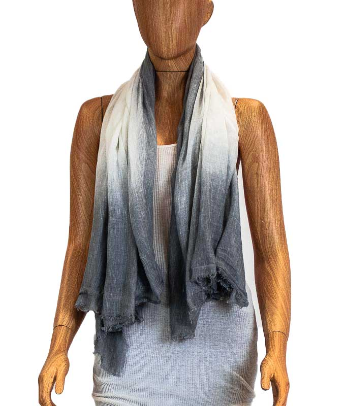 Grey Rectangle Scarf