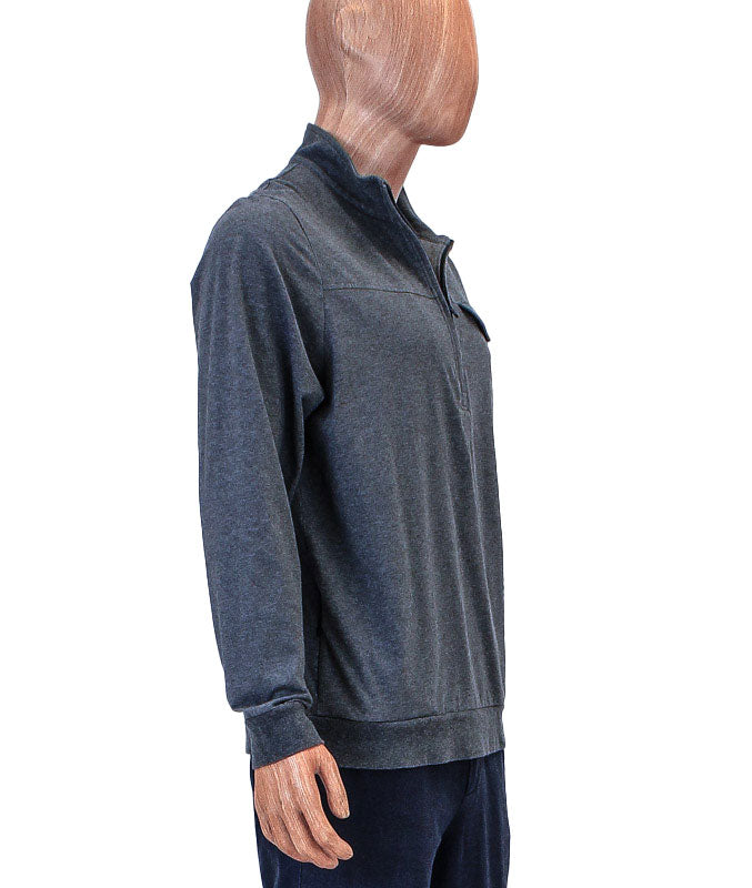 Front Pocket Quarter Zip Pullover