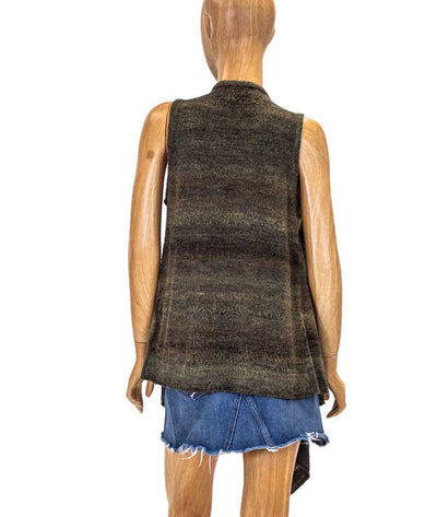 Heathered Brown Vest