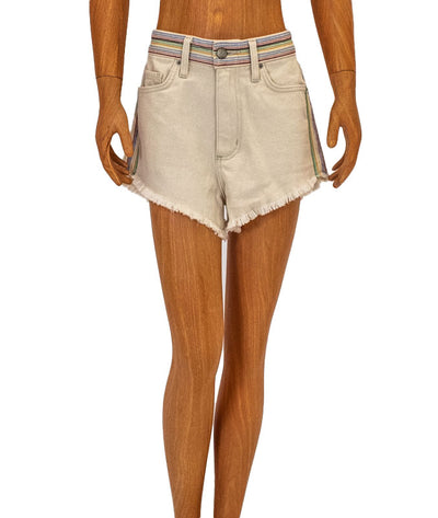 High-Rise 70s Mini Shorts