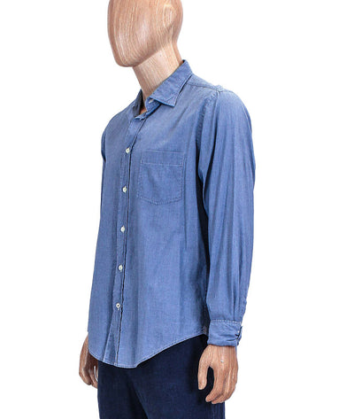 Front Pocket Chambray Button Down