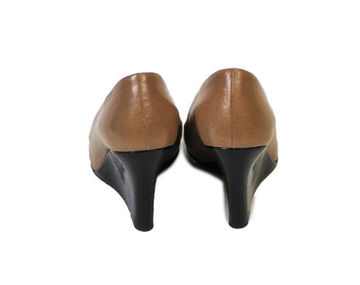 """Kimmy"" Round Toe Wedge"