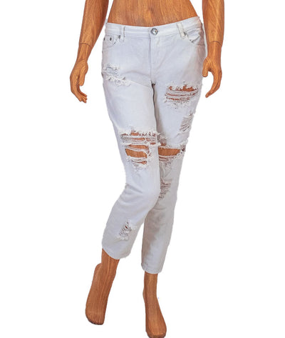 """Awesome Baggies"" Distressed Jeans"