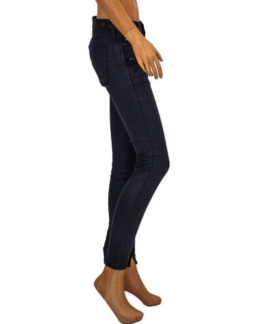 """The Harlow"" Zip Accent Skinny Jeans"