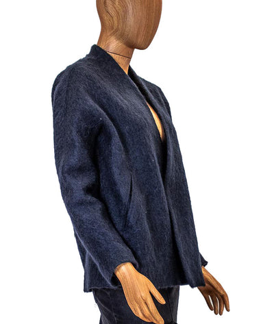 Lined Mohair Jacket