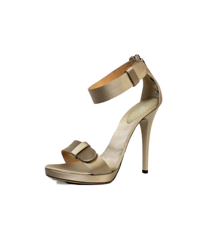 One Band High Heel Posted Ankle Strap