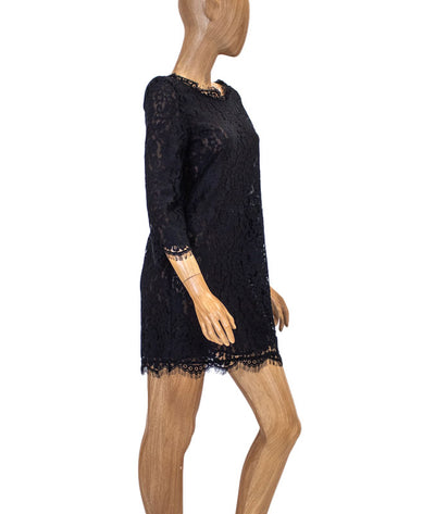 Sheer Lace Shift Dress