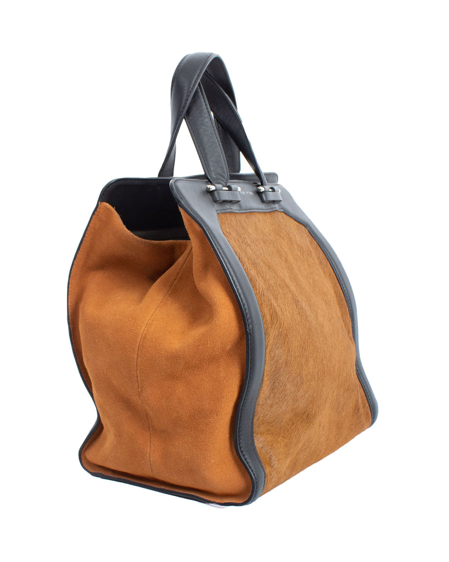 Cowhide Leather Hand Bag