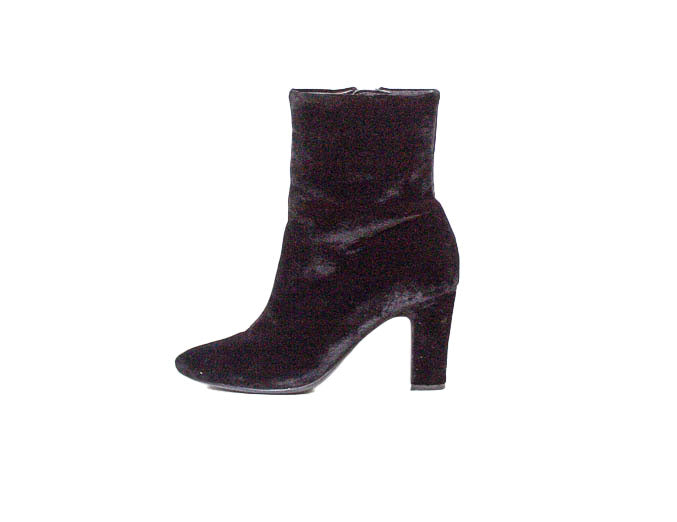 """Bridgett"" Velvet Ankle Boot"
